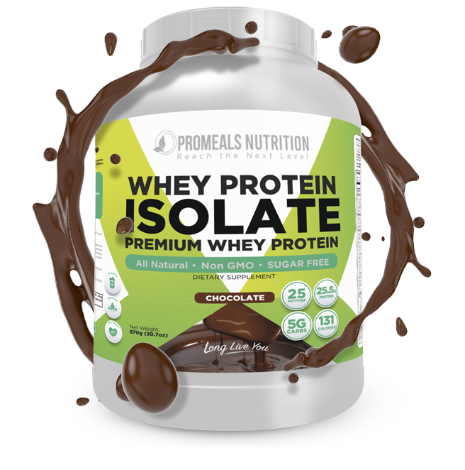 Chocolate Whey Protein Isolate by Promeals Nutrition